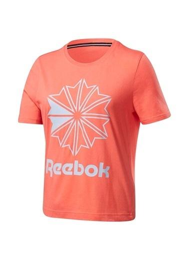 Reebok Classıcs Bıg Logo Graphıc Tışört Mercan